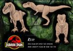 Concept Rexy plush