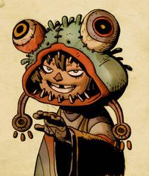 shaman kid by Prostetiche