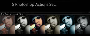 5 psp actions set preview