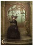 Lady in black by FuzzyBuzzy