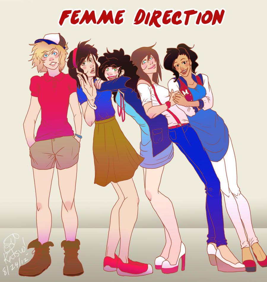Femme Direction by Katsuomangaka