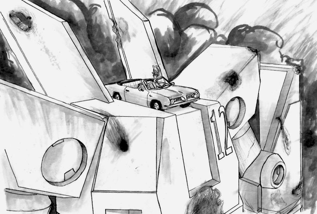 WE DIG GIANT ROBOTS by Katsuomangaka