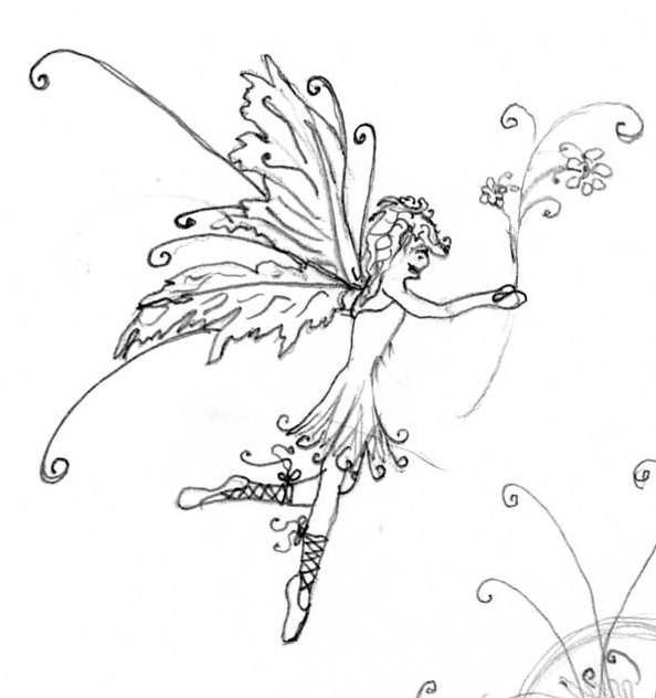 fairy tattoo designs 01 by michaelalouise on deviantart. Black Bedroom Furniture Sets. Home Design Ideas