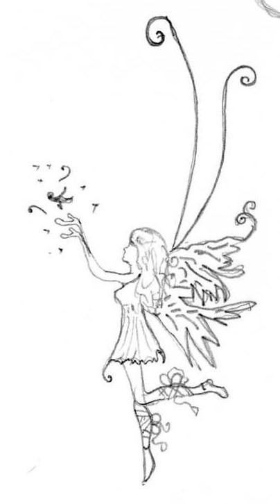 Simple Fairy Design Tattoo Designs 03 By