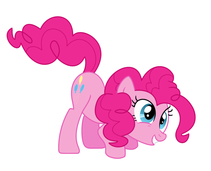 Silly Pinkie Pie by bobbyllama