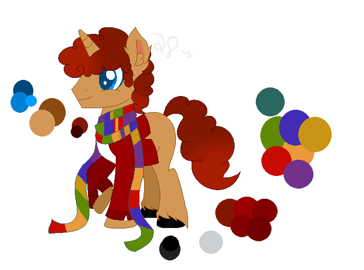 (My ver) Fourth doctor by Speedpaintwithmoon