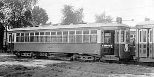 Springfield Street Railway Streetcar #550.