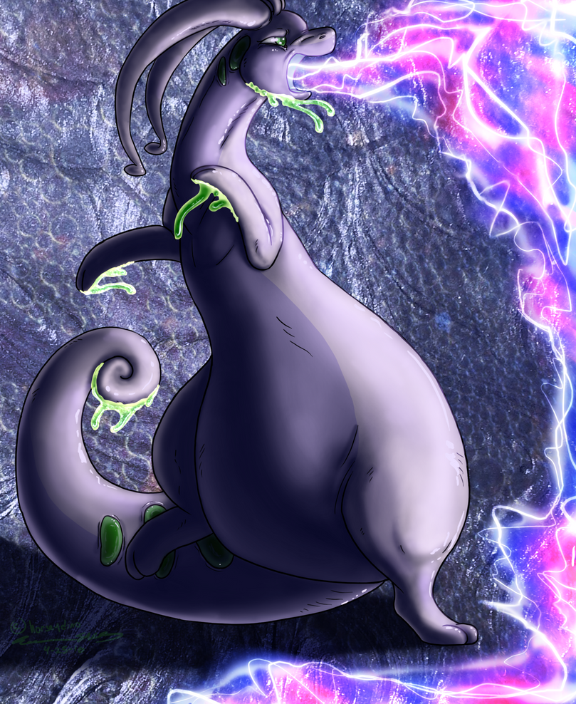 Day 3: Goodra by horseydino