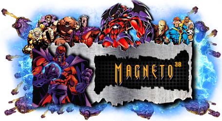 Magneto Signature by TheManOfSteel0