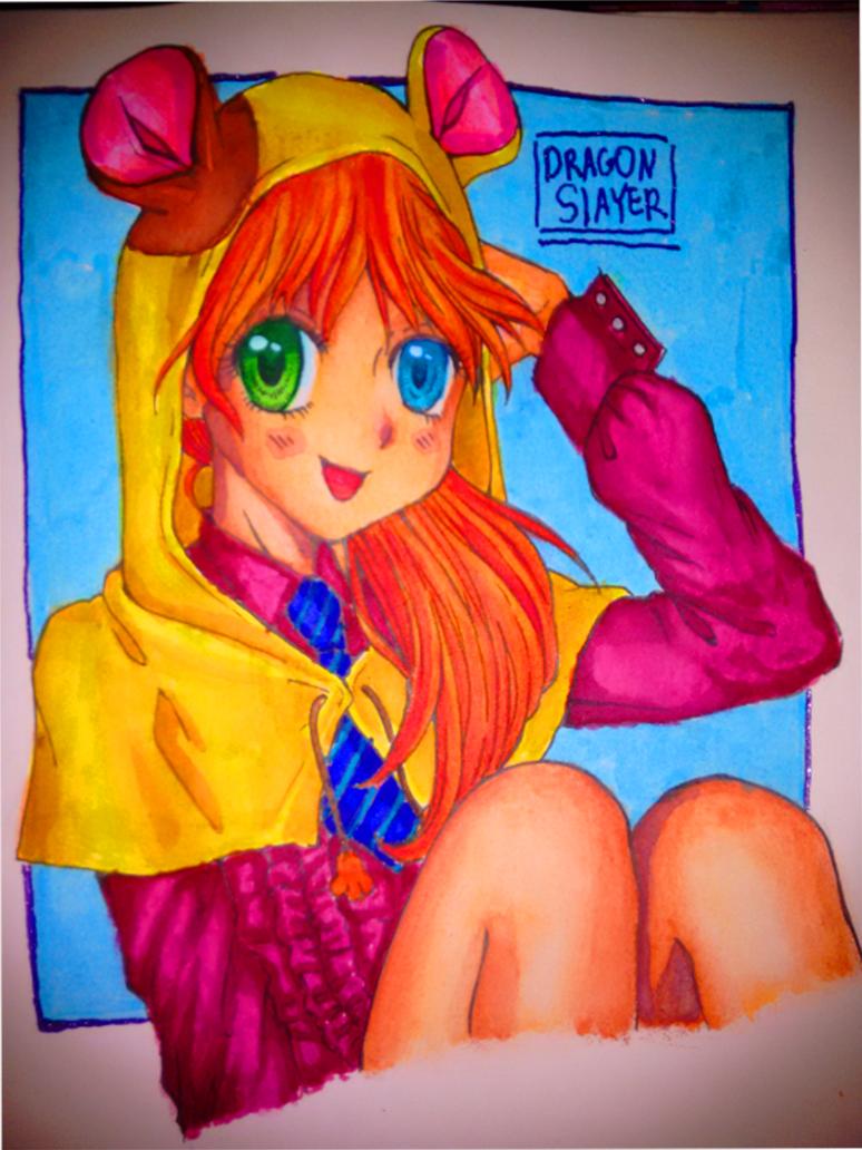 Ham Ham Girl by DragonSlayerDraw