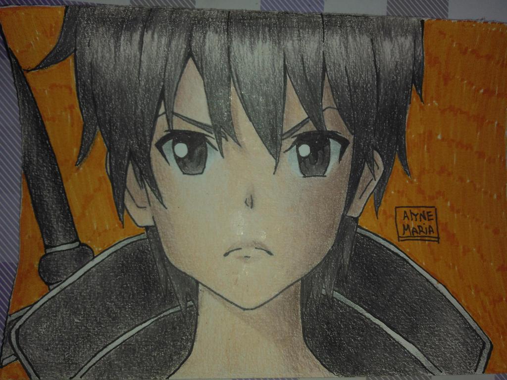 kirito fanart by DragonSlayerDraw