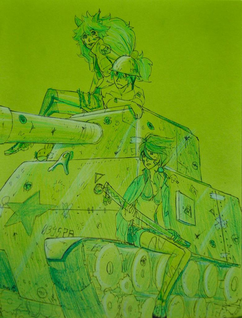 green war by RCR2895