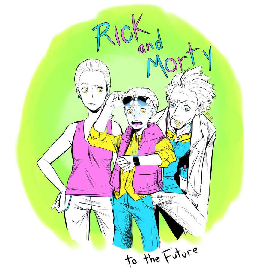 Rick and Morty to the future by RCR2895