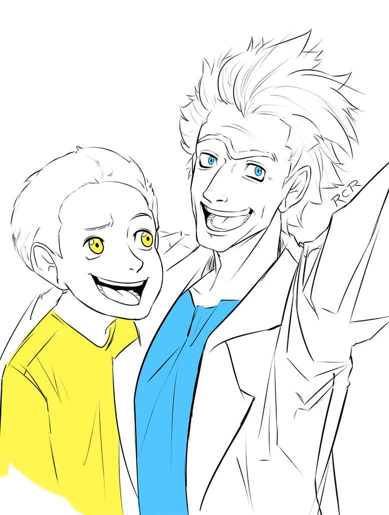Rick and Morty by RCR2895