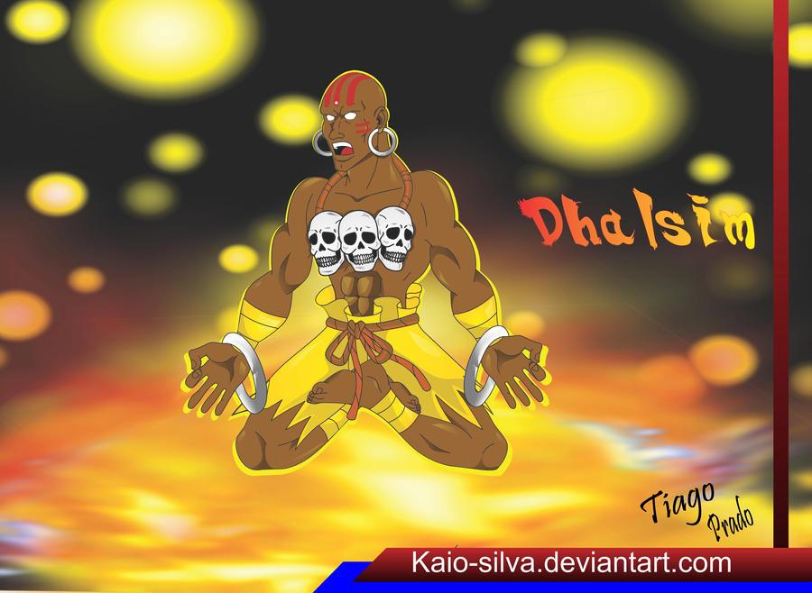 Dhalsim - Yoga Master by Kaio-Silva