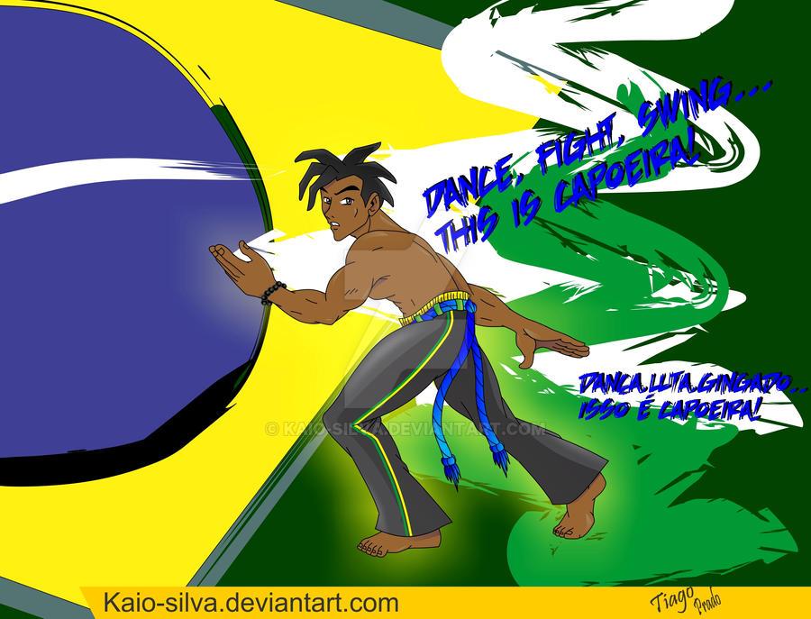 Tributo a capoeira by Kaio-Silva