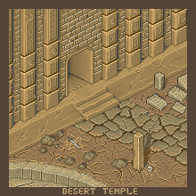 Desert Temple by makzvell52