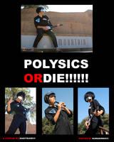 THE POLYSICS Cosplay by Kagitsune