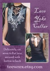 TeeWrex - Lace Yoke Collar