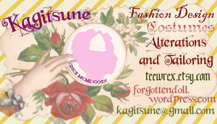 Victorian-Style Calling Card
