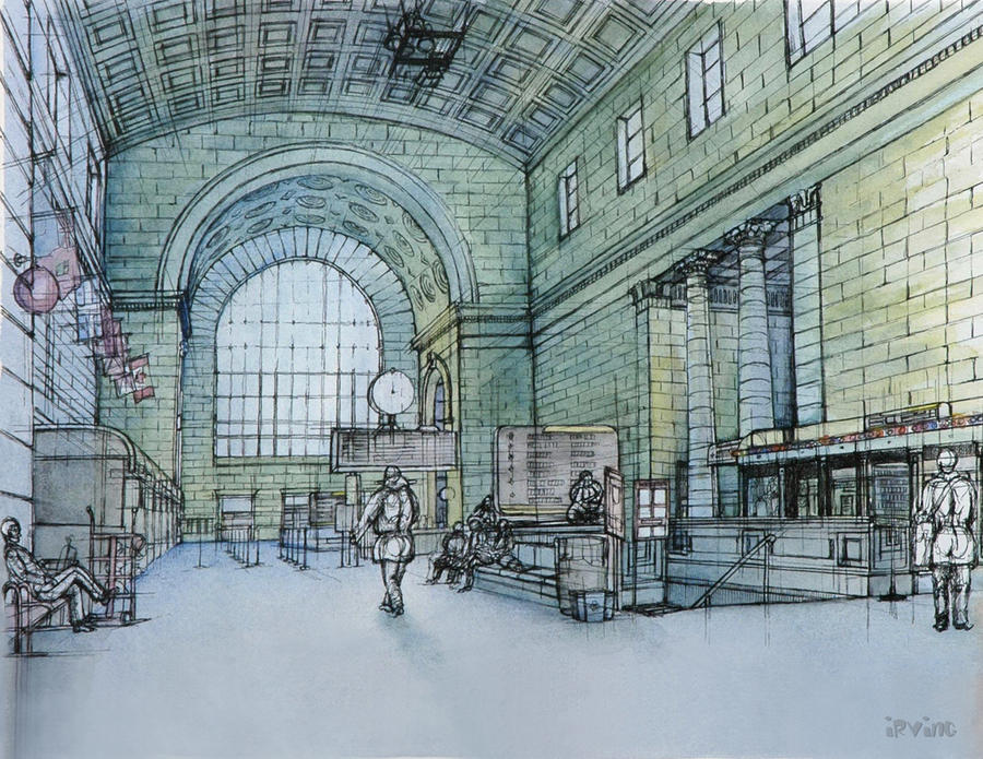 union station by the-infinite-opi