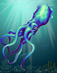 Squid by Belabras