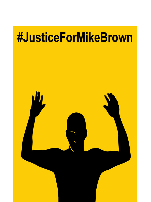 Justice for Mike Brown by Belabras