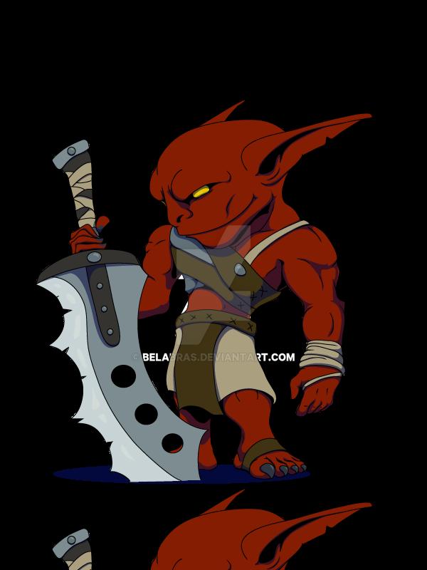 Goblin rager by Belabras