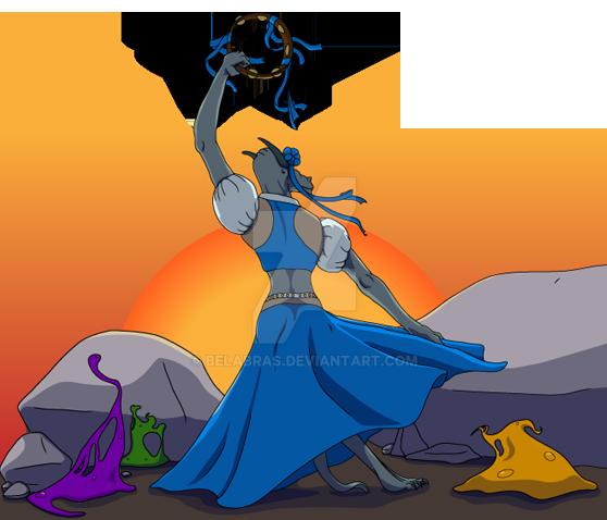 Kobold Dancer by Belabras