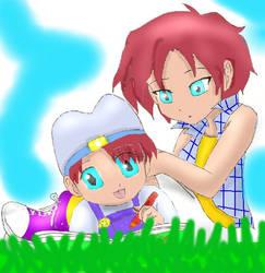 Nami and son by TeenageKairi