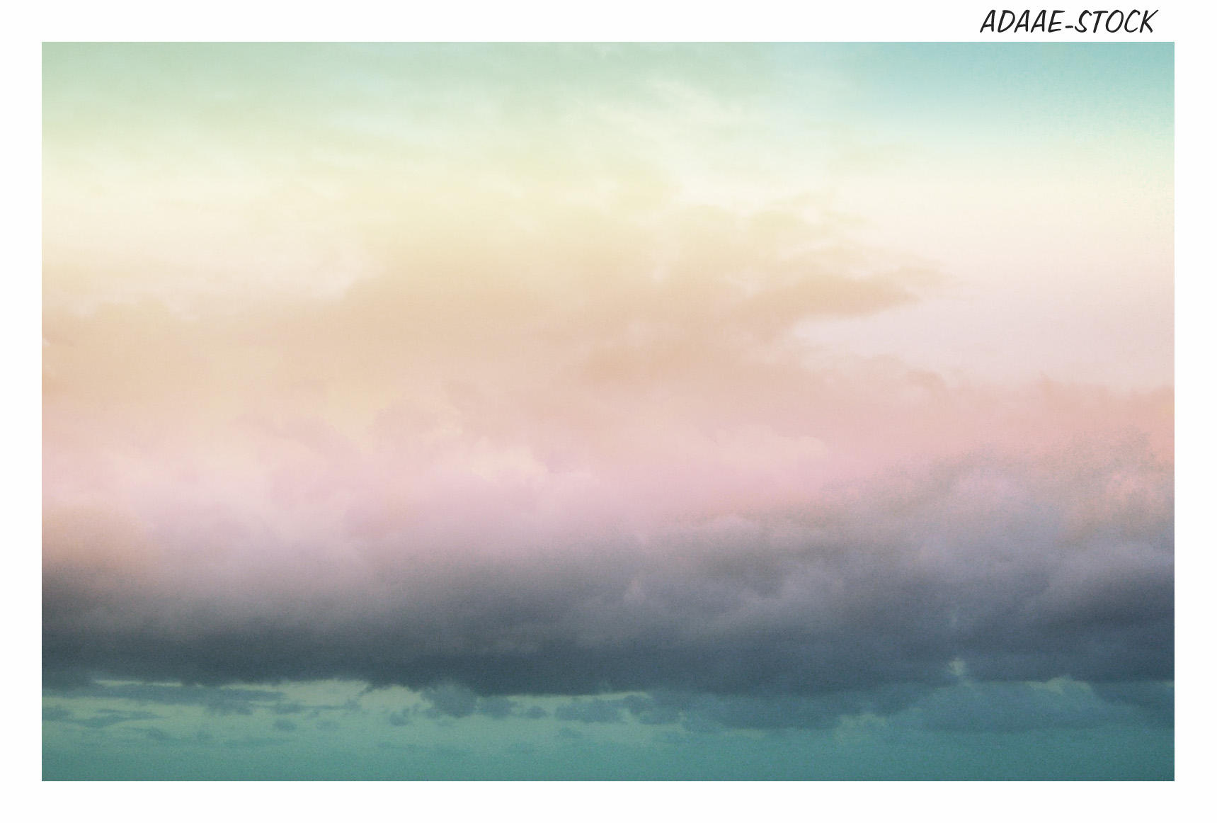 dreamy clouds 2 by Adaae-stock