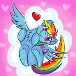 Rainbow Dawwwsh