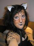 Leopard Face + Bodypaint