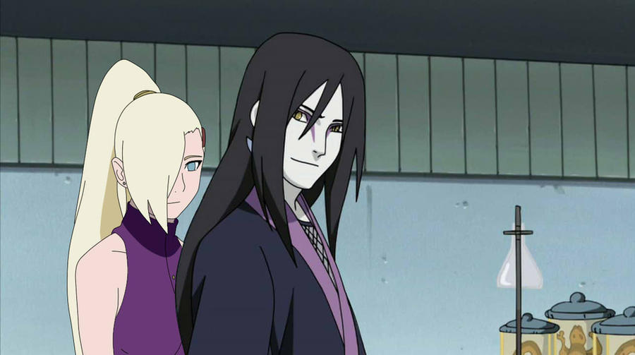 orochimaru x ino by ericaw9 on deviantart
