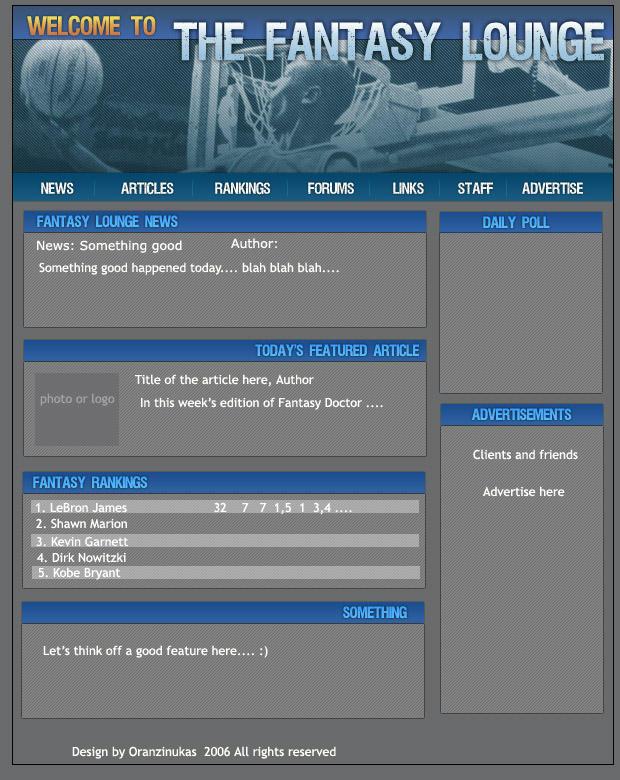 fantasy sports site