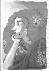 Inktober 1 - Witch
