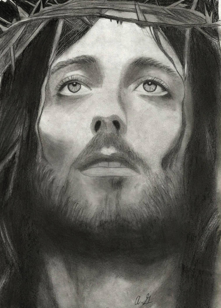 Jesus Christ drawing