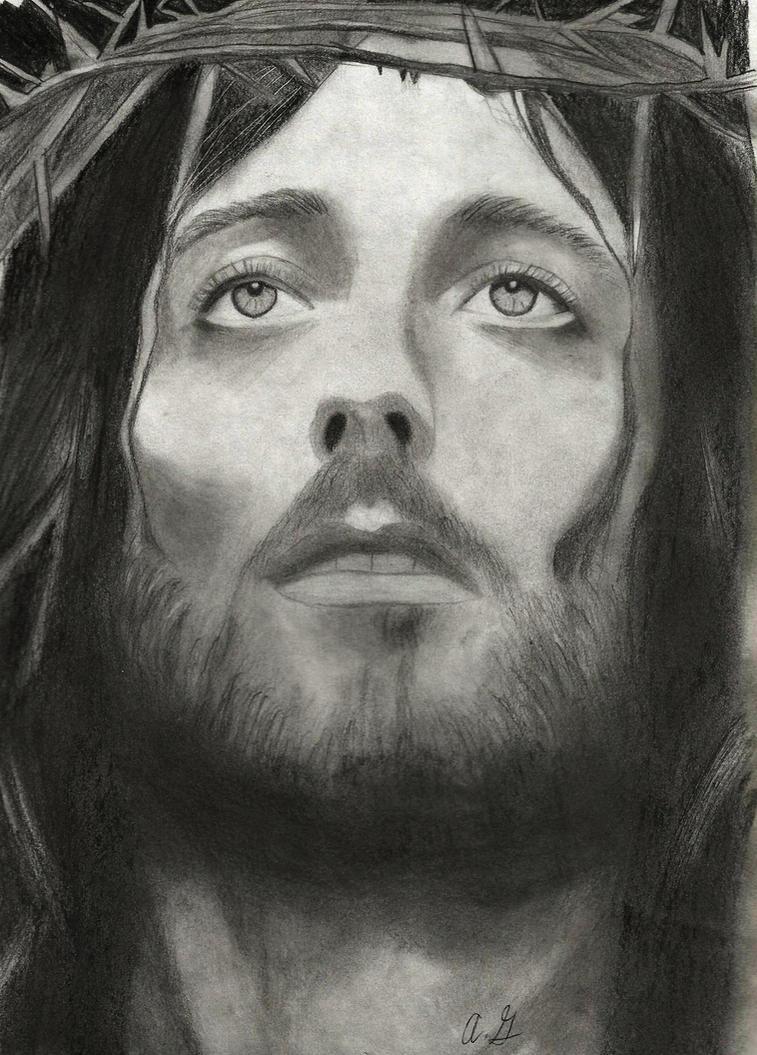 Jesus Christ drawing by EtaniaVII