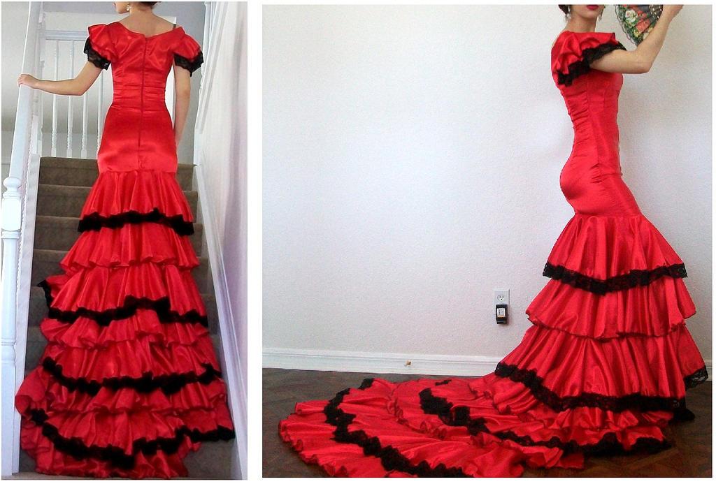 Spanish Dancer Flamenco dress 3