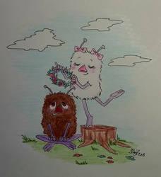 Stinky and Minty by IdaBlack