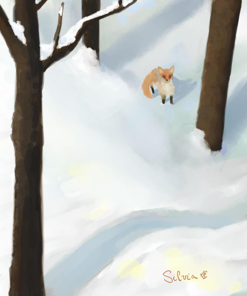 little fox by ghironda