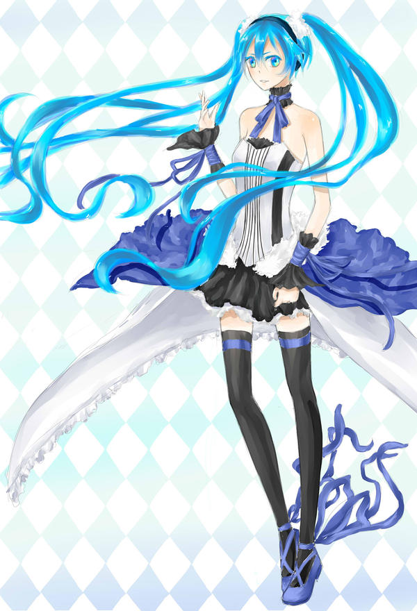 hatsune miku wallpaper outfits - photo #5