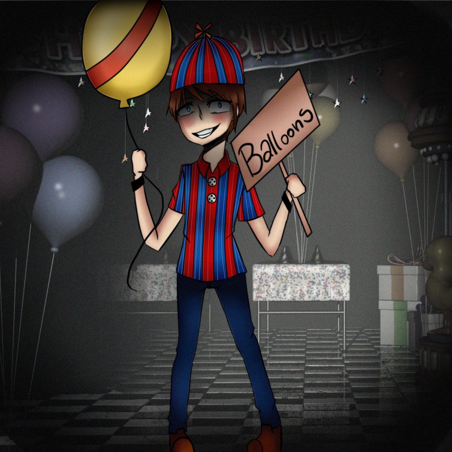 ballon boy speed paint five night at freddys by hairo