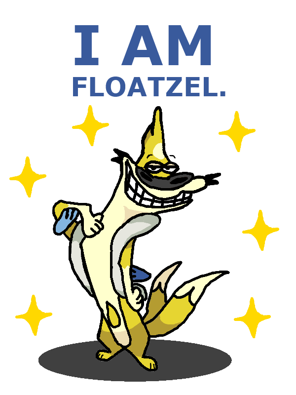 Shiny floatzel pokemon x