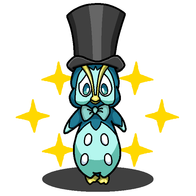 Shiny prinplup playboy penguin looney tunes by shawarmachine voltagebd Images