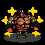 Shiny Buzzwole + Larry the Lobster (SpongeBob)