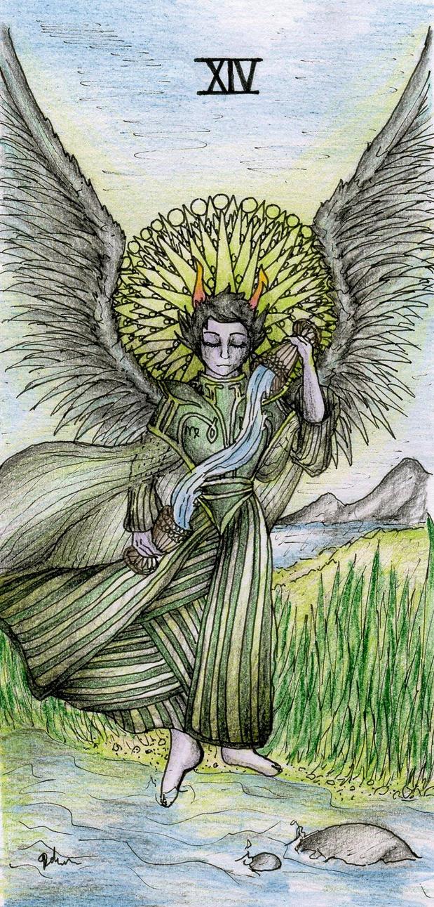 Xiv Temperance Balance Archangel Zadkiel: XIV (Temperance)The Dolorosa -Tarrot Cards- Colour By