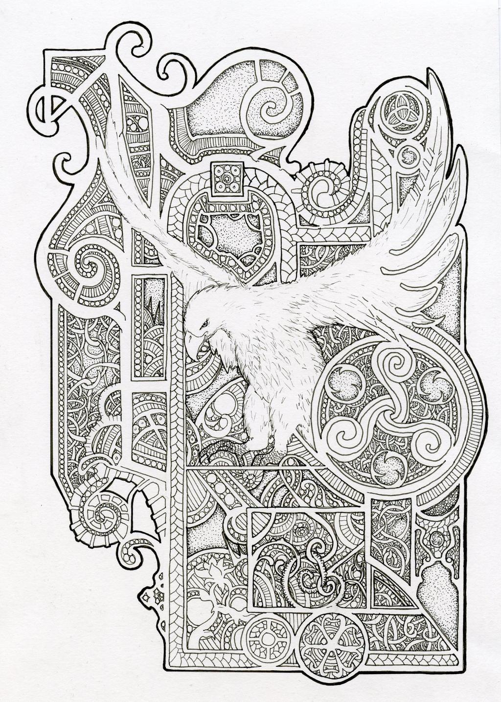 Bird design Inspired by Book