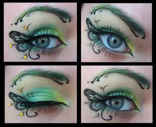Green butterfly by Misty-AnGel