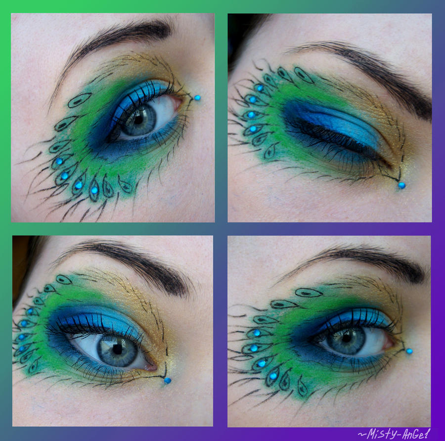 Peafowl's eye by Misty-AnGel